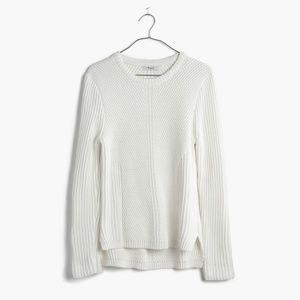 MADEWELL Hexcomb Texture Knit Sweater